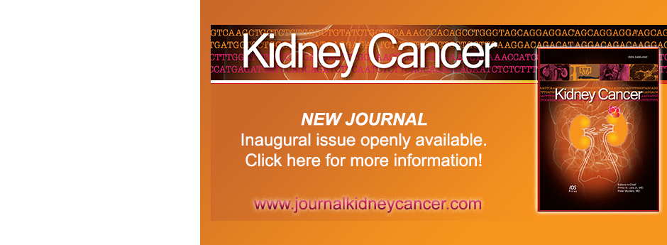 Launch of sister journal: Kidney Cancer